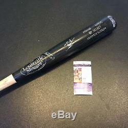 Mookie Betts Signé Jeu Utilisé Louisville Slugger Baseball Bat Jsa Red Sox De Boston