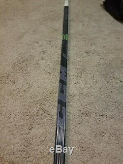 Nathan Mackinnon 14'15 Signé Avalanche Du Colorado Jeu Utilisé Bâton De Hockey Coa 2