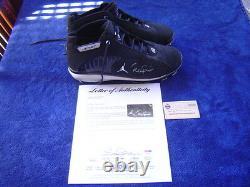 New York Yankees Derek Jeter'08 Jeu Utilisé Signé Nike Jordan Cleats Steiner Psa