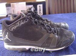 New York Yankees Derek Jeter'11 Jeu Nike Jordan Anciens Et D'occasion Crampons Steiner Jsa