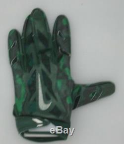 Packers Davante Adams Jeu Signed Utilisé Nike Football Glove Auto # 3 Jsa