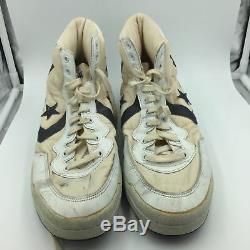 Paire De 1980 Signé Isiah Thomas Jeu Utilisé Converse Baskets Chaussures Psa Adn