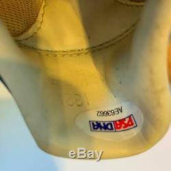 Paire De (2) 1986 Gary Carter Jeu Signé Utilisé Baseball Crampons Psa Adn Coa Mets
