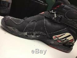 Partie Usée Nike 1993 Chaussure Droite Nba Playoffs Autographiée Partie Utilisée Michael Jordan
