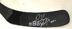 Paul Kariya 2002 Signé Jeu Utilisé Memory Stick Anaheim Ducks Puissant Easton Ultra Lite