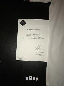 Paul Konerko Signé Jeu 1917 Jersey White Sox De Chicago 2001 Assermentée
