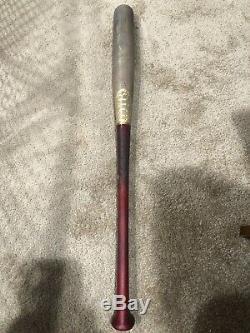 Pete Alonso 2019 Rookie Jeu Mets Signed Utilisé Bat