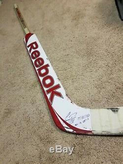 Prix Carey 07/12/10 Signé Montréal Canadiens Pm Jeu Utilisé Bâton De Hockey De La LNH Coa
