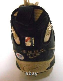 Psa Jerry Rice Jeu Utilisé Autographié Signé Auto Football Cleat Hof Shoe 49ers