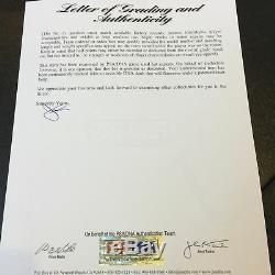 Rare 1987: Barry Bonds - Jeu Signé - Batte De Baseball Usagée - Psa Adn Gu 8.5