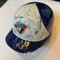 Rare 1994 Toronto Blue Jays Équipe Signature Jeu Utilisé Casque Psa Adn Coa