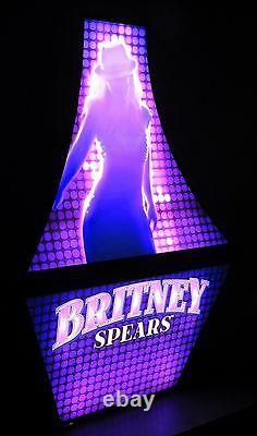 Rare Britney Spears Slot Machine Jeu Lighted Display Sign Las Vegas Piece Of Me