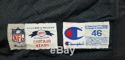 Richard Dent 1993 Jeu D'occasion Et Chicago Bears Jersey Signé-mcm