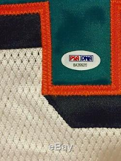 Ricky Williams Miami Dolphins Portés Autographed Jersey Jeu Utilisé Texas NFL
