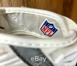 Rob Gronkowski Gronk Jeu Utilisé Porté Gants New England Patriots NFL Signé Auto