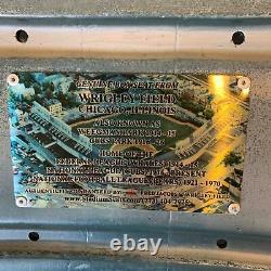 Ron Santo A Signé Jeu Original Utilisé Wrigley Field Seatback Jsa Cosa Chicago Cubs