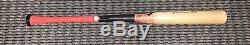 Ronald Acuna Jr. Atlanta Braves Jeu D'occasion Bat 29 Signé Carrière Hr Pm Signé