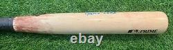 Ronald Acuna Jr. Atlanta Braves Jeu Utilisé Bat 2020 Nlcs Rbi Double Signé