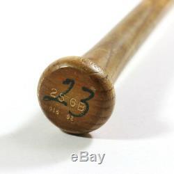 Ryne Sandberg'92 Jeu Signé Utilisé Chicago Cubs Rawlings Adirondack Batte De Baseball