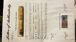 Sammy Sosa Jeu Utilisé Autographié Bat Psa 1999 63 Années Rh
