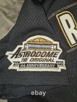 Shane Reynolds Jeu Utilisé Worn Houston Astros Batting Practice Jersey Signé 48