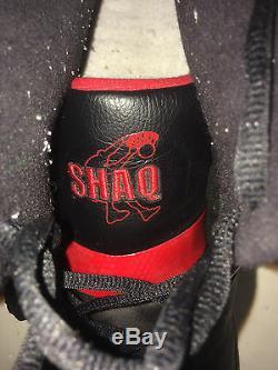 Shaquille O'neal Shaq Signé Jeu Utilisé Taille 22 Miami Heat Baskets Autographe Psa