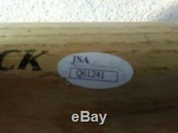 Shohei Ohtani Autographié Au Jeu Utilisé! Rawlings Pro Bat Jsa Authentifié