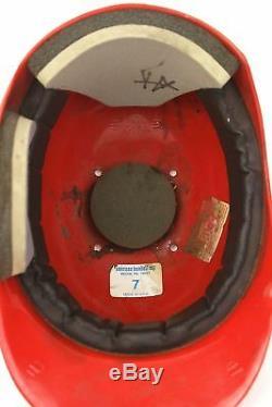 Sparky Anderson Big Red Machine Signé Jeu Utilisé Cincinnati Reds Casque Adn Psa