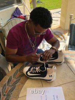Starlin Castro Jeu Utilisé & Signé Yankee Nike Talles