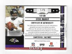 Steve Mcnair 2007 Absolute Game Used Jersey & Shoe Autograph Card /5 Signé Auto