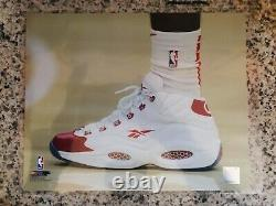 Taurean Prince Pe Signed Nba Game Worn Used Allen Iverson Reebok Question Shoes
