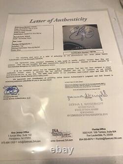 Tennessee Titans Jeu Utilisé Casque De Football Eddie George Autographié Signé Loa