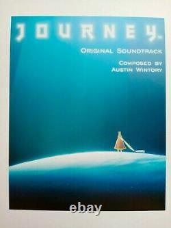 The Art Of Journey Playstation Jeu Vidéo Signé Rare Art Book First Edition