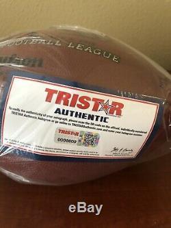 Tom Brady Super Bowl 46 Jeu Utilisé Par Football Patroits Offense Signé Autograph
