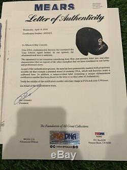 Tony Gwynn San Diego Padres Jeu Utilisé Casque Carrière Hit 2926 Signé Gwynn Loa