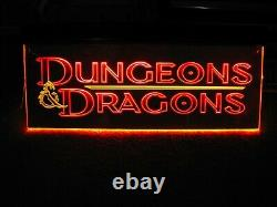 Tsr Dungeons Dragons Neon Store Signe Gold Promotion