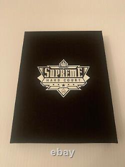 Uda Supreme Hard Court Michael Jordan Auto Game Used Floor 4 Of 9 Rare