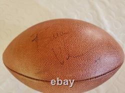 Ultime Brian Urlacher Signé Paquet Jeu Utilisé Gant Et Auto NFL Football