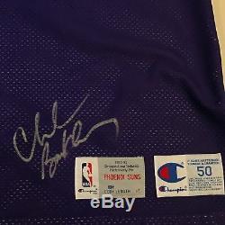 Un Des Plus Beaux Jeux De Charles Barkley 1992-1993: Chandail Signé Phoenix Suns