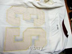 Washington Redskins Signé Ade Jimoh Jeu Authentique Used Cut Jersey 2003 Rookie