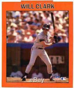 Will Clark San Francisco Giants Rare Jeu Utilisé Bat Autographié Excellente Utilisation