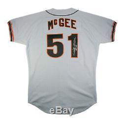 Willie Mcgee 1993 Jeu San Francisco Anciens Et D'occasion Giants Cardinals Jersey Route