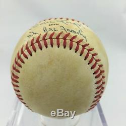 Willie Stargell Nous Sommes Une Famille A Signé Le Jeu Utilisé 1979 World Series Baseball Psa